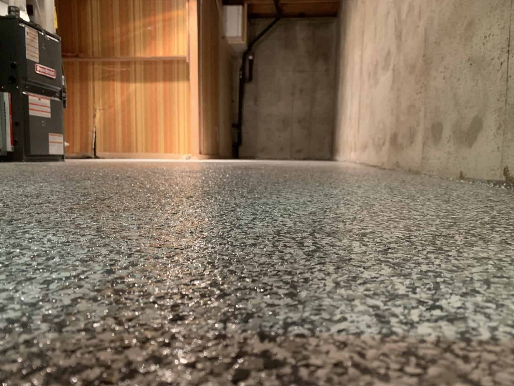 Basement Epoxy Flooring
